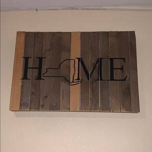 New York State HOME Wall Decor
